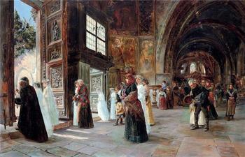 Испанский художник Хосе Гальегос-и-Арноса