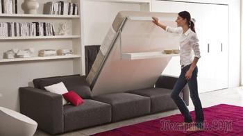 Как разместить кровать в помещении с небольшой площадью: 9 оригинальных идей