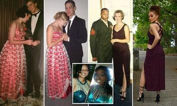 Новый модный тренд: мамино платье на выпускной