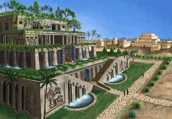 Висячие сады Семирамиды: история и интересные факты