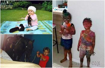 16 зубодробительных фотографий с детишками, которым совсем не сидится на месте