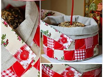 Текстильный короб для освящения пасхального кулича