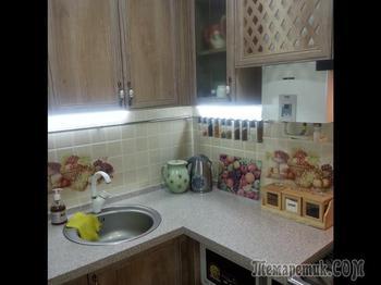 Долгожданный ремонт на кухне площадью 2,5×2