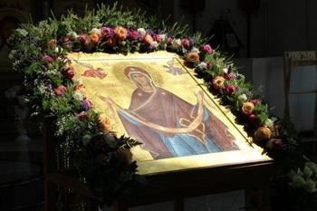 Богородица спасла от аварии