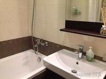 Ванная: приятный интерьер за небольшой бюджет