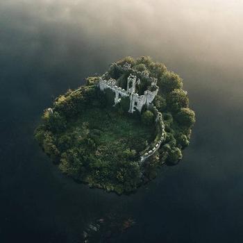 Легенды ирландского островного замка