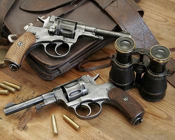 Легендарный револьвер «Наган» будет производиться для гражданского населения