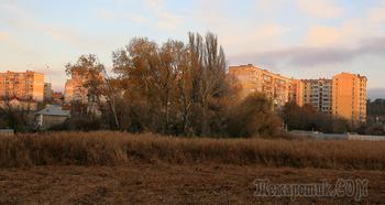 Крым. Симферополь. Первый день зимы. Утро