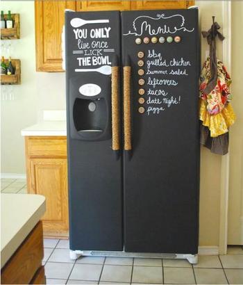 8 способов декора холодильника