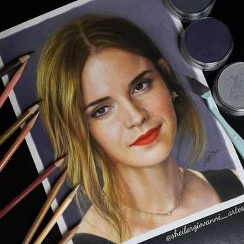Ещё одна порция гиперреалистичных портретов знаменитостей, сделанных художницей-самоучкой из Бразилии