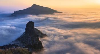 Удивительная гора Фаньцзиншань в китайском Гуанчжоу