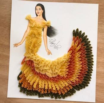 Оригинальные дизайны платьев от художника Эдгара Артиса