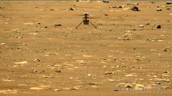Вертолет NASA Ingenuity совершает второй успешный полет на Марсе