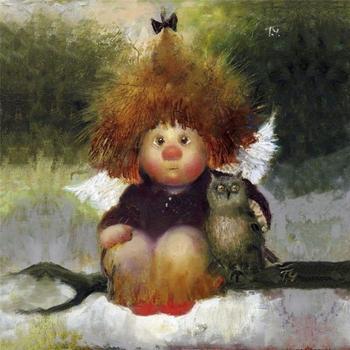 Рыжеволосое чудо: солнечные ангелы Галины Чувиляевой