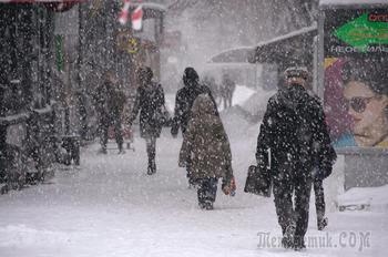 Зима в Полтаве