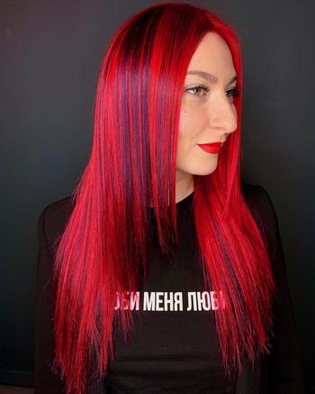 Красные волосы на женщинах 40-50 лет: 20 идей для кардинальной смены имиджа