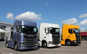 Российская премьера Scania