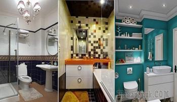 20 практичных идей, как обустроить малогабаритную ванную