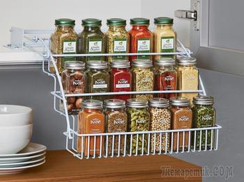 Идеи для кухни: храним специи креативно