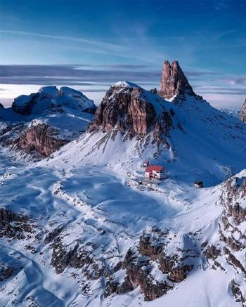 Захватывающая красота Альп в фотографиях Лукаса Фурлана