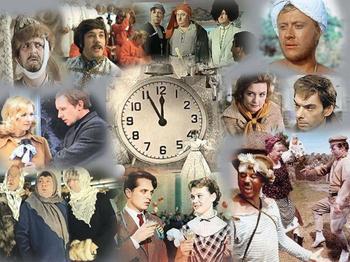 Первые кинороли известных советских актеров
