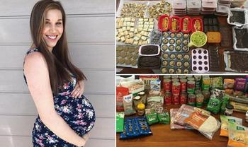 «Сделала дело — рожай смело!»: запасливая мама перед родами приготовила впрок сотни порций еды