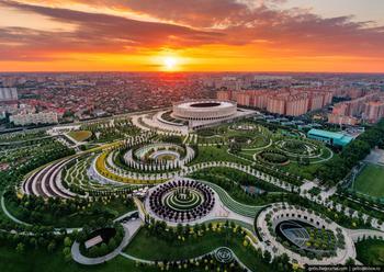 Парк Галицкого в Краснодаре — пожалуй, лучший парк России