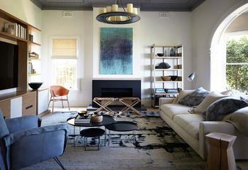 Современный интерьер в традиционном австралийском доме