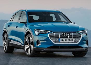 Audi e-tron 2019 – новый электрический кроссовер Ауди е-трон