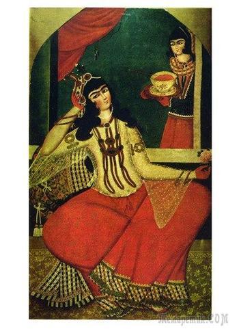Искусство Ирана. Каджарская живопись (конец XVIII – XIX вв.)