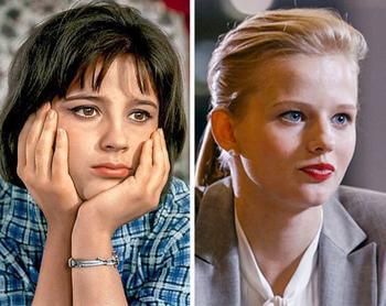 Фото советских и современных актрис в одном и том же возрасте