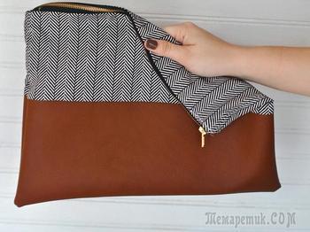 Клатч своими руками из старых джинсов, старой сумки, ткани, фетра