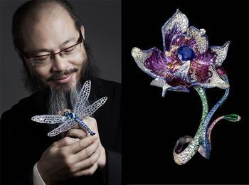 Титан и бабочки: Как творит свои шедевры китайский ювелир-волшебник Уоллес Чан