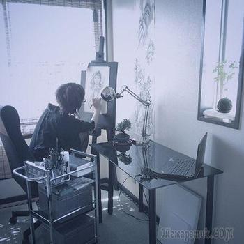 Японская художница Озабу. Рисунки, которые впечатляют