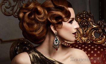 Вечерние прически на средние волосы для самых красивых