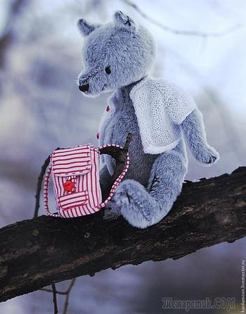 Отправляем мишку в дорогу. Создание мини-рюкзачка для Тедди и кукол