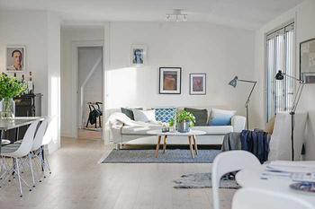 Прекрасная квартира на последнем этаже (103 кв. м)