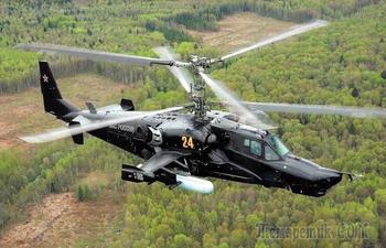 3 причины, по которым вертолет Ка-50 «Черная акула» так и не попал в серийное производство