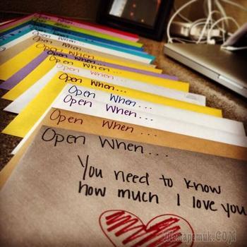 Конверт «открой когда» – самый оригинальный подарок на день рождения