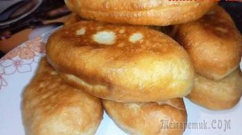 Воздушное тесто для жареных пирожков: дрожжевое тесто