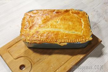 Луковый пирог. Вкусный, быстрый и недорогой пирог из лука и плавленых сырков.