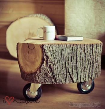 Идеи применения старой древесины
