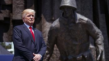 Трамп назвал поведение России в Восточной Европе дестабилизирующим