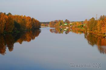 золотая осень в Карелии