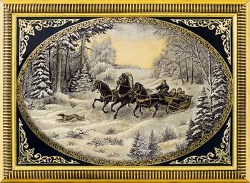 Златоустовская гравюра на стали — русский народный художественный промысел