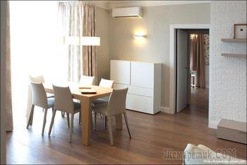 Двухэтажная квартира 150м2 для семьи с тремя детьми