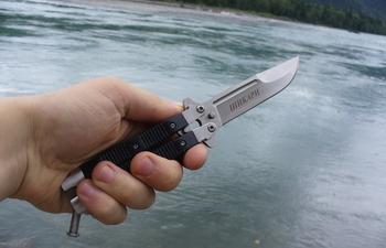 Нож-бабочка – оружие уличной шпаны или предмет высокого искусства
