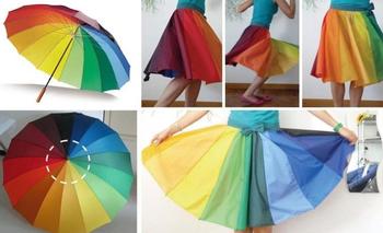 Интересные идеи применения старого зонта