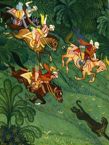 Художник  Николай Кочергин  и его иллюстрации к сказкам
