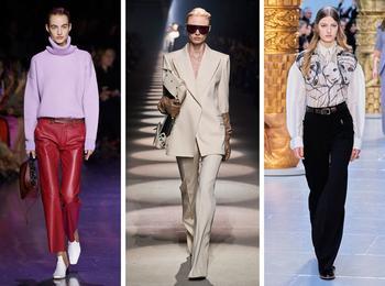 Вместо джинсов: модные брюки осени и зимы 2020/21